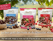 Lancement Lindt Sensation Fruit